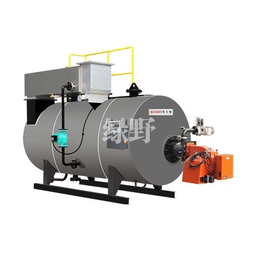 卧式结构热水锅炉
