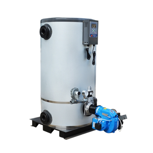 立式结构热水锅炉